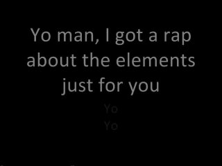 elements rap - Periodic Table Rap