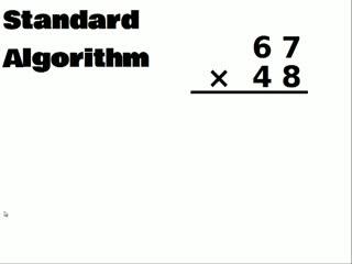 Multiplication Algorithms