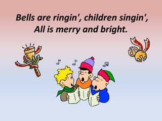 Here Comes Santa Claus (vocals)