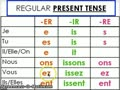 French verb endings