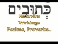 Hebrew Names of the Bible Books