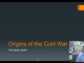 The Cold War: Berlin Airlift