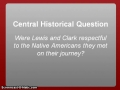 Lewis and Clark Intro