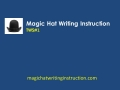 Writing Instruction for Middle School and High School Teachers and Students