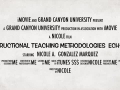Trailer for ECH-335 Instructional Teaching Methodologies