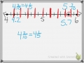 Fractions & Decimals on the Number Line