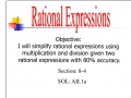 Simplifying Rational Expressions (Part I)