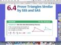 6.4 Part 1 SSS Similarity