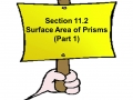 11.2 part 1 Surface Area of Prisms