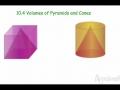 Geo 10.4 Volume of Pyramids and Cones