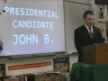 John Brittner Presidential Speech