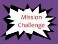 Mission Challenge #5 Volume
