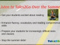 Tales2Go Summer Listening and BYOD Information Webinar