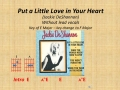 Put a Little Love In Your Heart (chords & no vocals)
