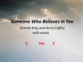 Someone Who Believes in You (vocals)