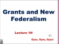 1h - New Federalism and Grants