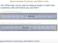 Second Grade - Lesson 9.7 Using Customary and Metric Units to Measure Length