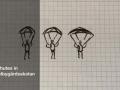Parachutes in Hässelbygårdsskolan