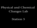 Physical and Chemical Changes Lab_Station 5