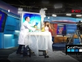 Elephant's Toothpaste Surprises News Anchor on LIVE TV