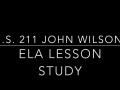 I.S. 211 Lesson Study