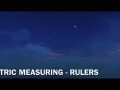 METRIC MEASURING - RULERS