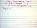 Corbin Multiplying Integers using Commutative Property