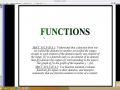 Functions introduction