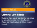 Module 1 Criminal Law Basics