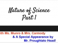 Nature of Science Pt1