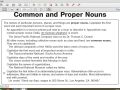 9/21: Common and Proper Nouns