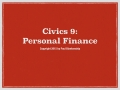 Civics 9 Presentation Video
