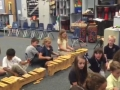 "15-16 Ms. Lewis' (Ms. Odom) 2nd grade class ""Rain on the green grass"" improvisation"