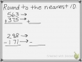Estimating Sums and Differences of Whole Numbers