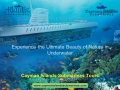 Experience the thrill of journeying beneath the sea in Grand Cayman