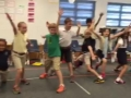 """15-16 Mr. Savage's (Ms. Brown) 3rd grade class """"Russian Dance"""" from the Nutcracker"""