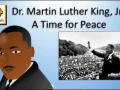 Dr Martin Luther King A Time For Peace
