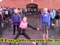 """""""Throw Like A Girl"""" anti-bully song by Double Chew Music"""