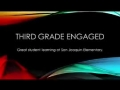 Third Grade Engaged Learning