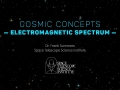 Cosmic Concepts - Electromagnetic Spectrum