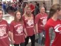 Ozark Highschool state swim team sendoff