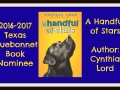 Texas Bluebonnet Award nominee book A Handful of Stars by Cynthia Lord.