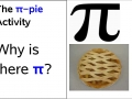 Pi Comes From Where?