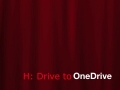 Moving Files from H:Drive to One Drive