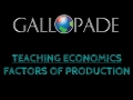 ClickBook Lesson Snippet:  Economics Factors of Production Lesson