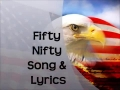 Fifty Nifty States Song