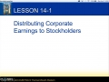 Accounting I - 14-1 - Lecture