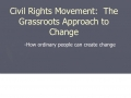 Civil Rights Overview
