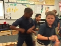 "15-16 Ms. Miller's 4th grade class ""Making of Shoemaker's Dance"" by Roger Sams"