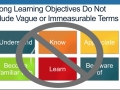 How to Write Learning Objectives Using Bloom's Taxonomy